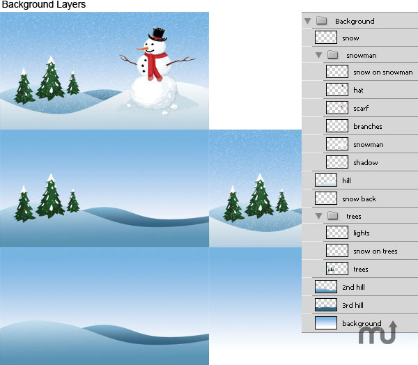 Screenshot 1 for Holiday DVD Menu Template Super Bundle