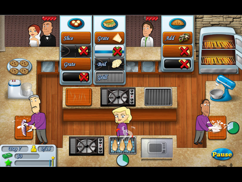 Screenshot 1 for Kitchen Brigade