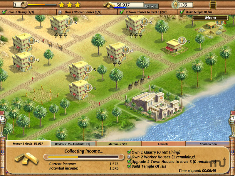 Screenshot 1 for Empire Builder: Ancient Egypt
