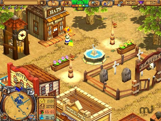 Screenshot 1 for Westward III: Gold Rush