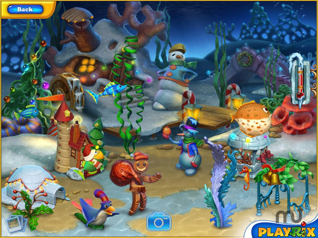 Screenshot 1 for Fishdom Frosty Splash