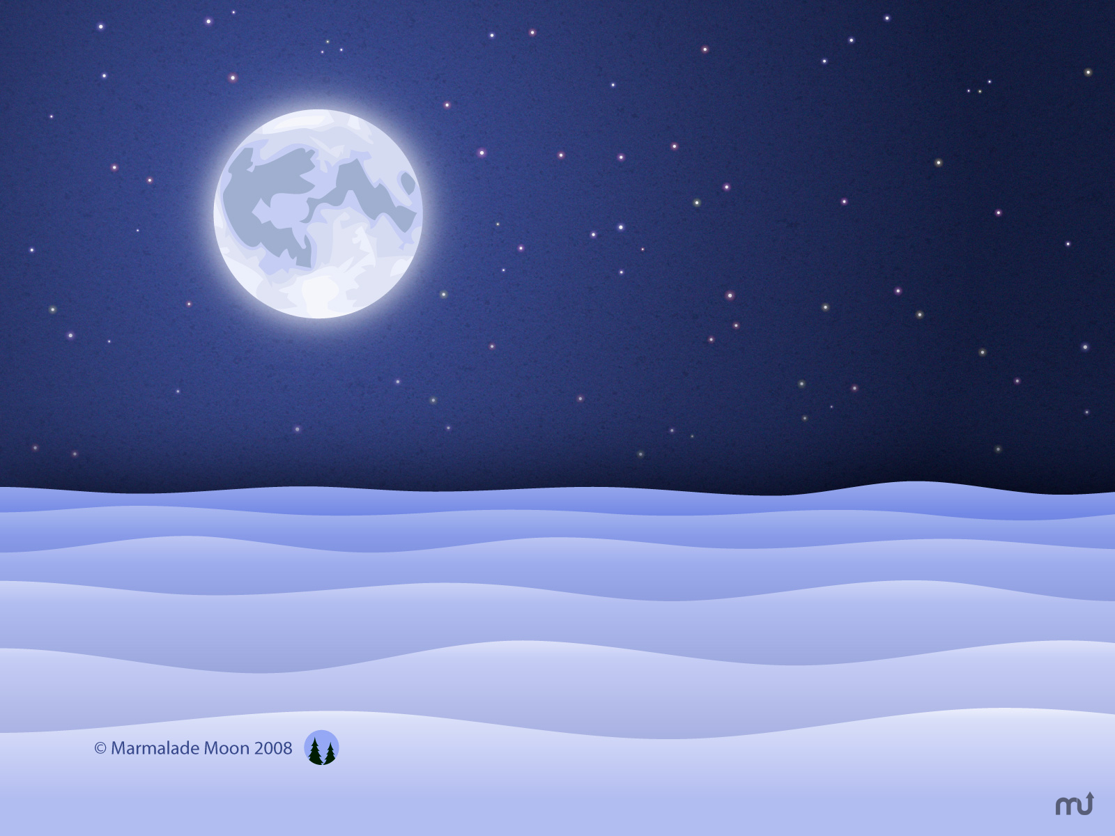 Screenshot 1 for Snowy Night