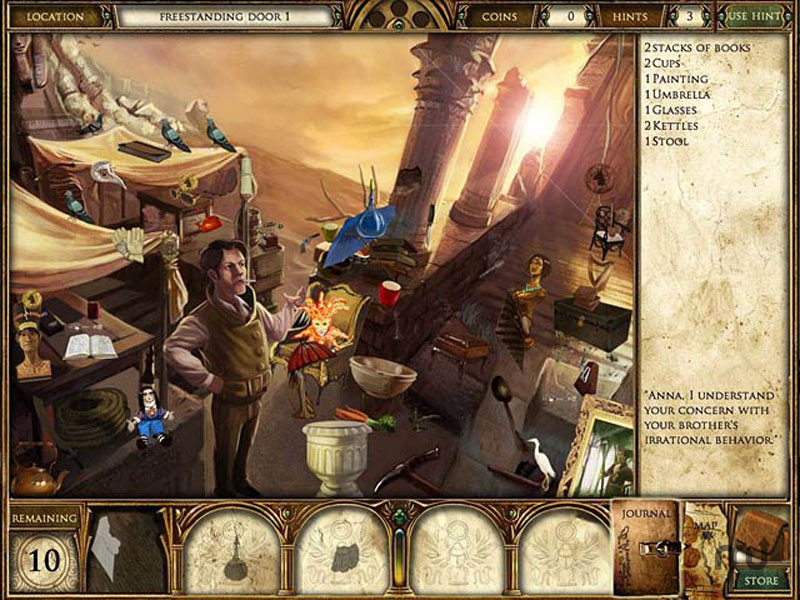 Screenshot 1 for Curse of the Pharaoh: Napoleon\'s Secret