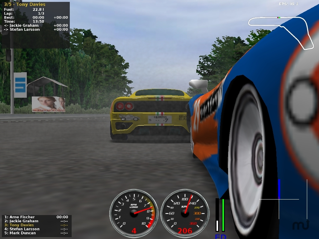 Screenshot 1 for jalada Ultimate Racing