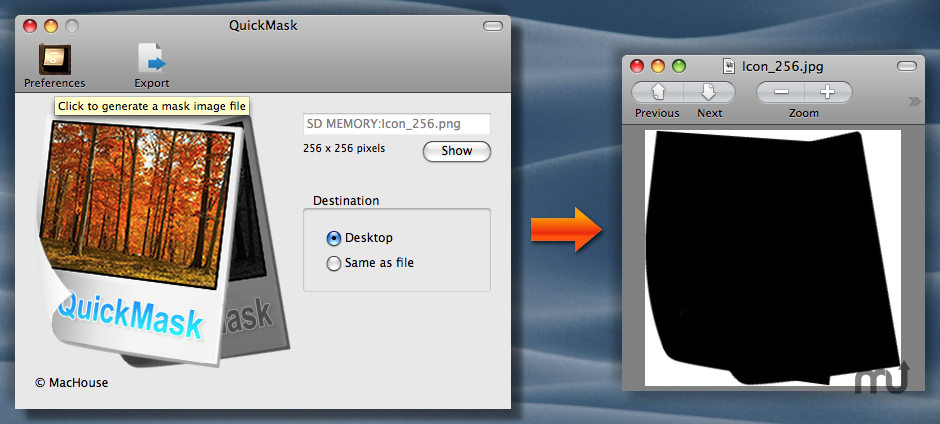 Screenshot 1 for QuickMask