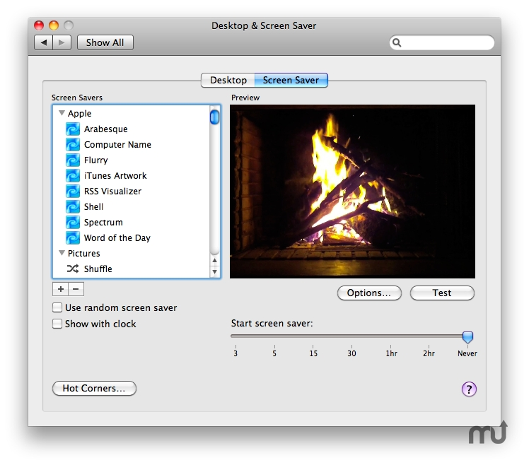 Screenshot 1 for Fireside