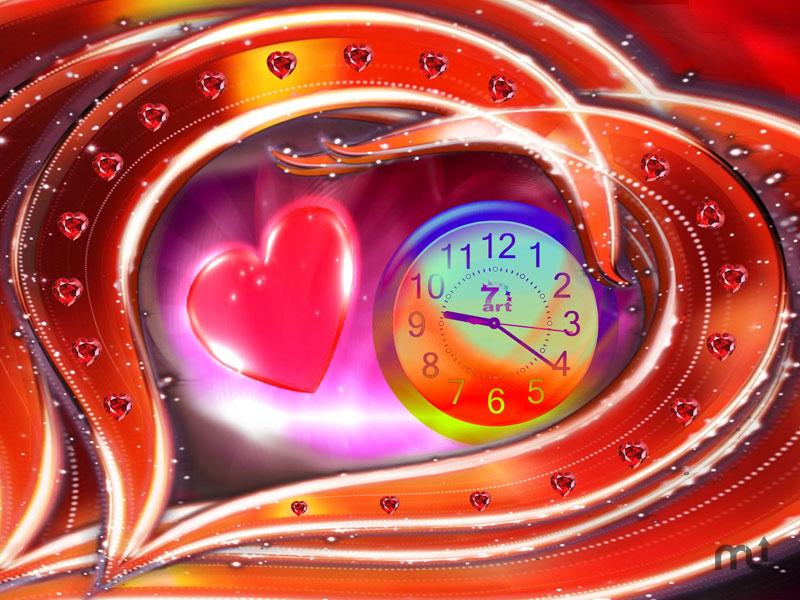 Screenshot 1 for Love Dance Clock