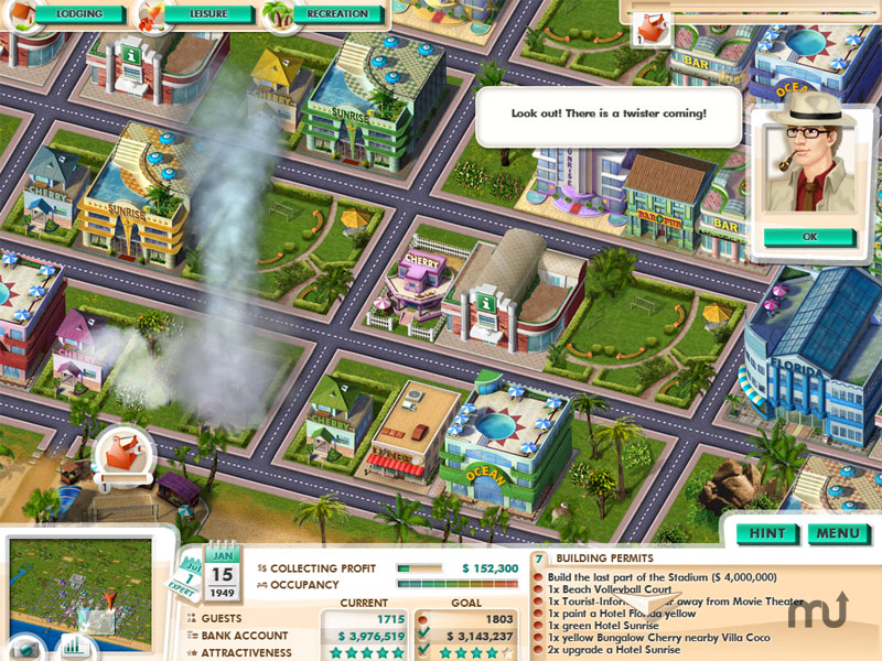 Screenshot 1 for Build It! Miami Beach Resort