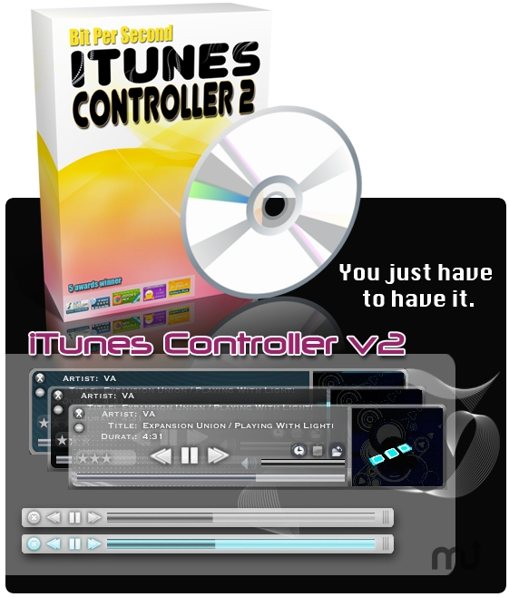 Screenshot 1 for iTunes Controller