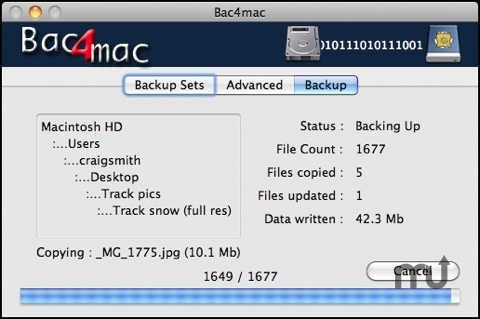 Screenshot 1 for Bac4mac