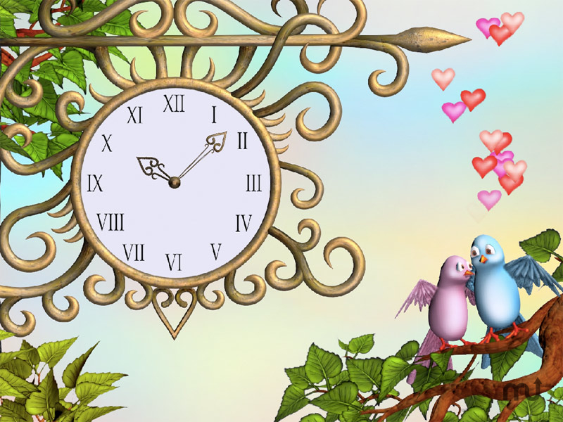 Screenshot 1 for Eternal Love Clock