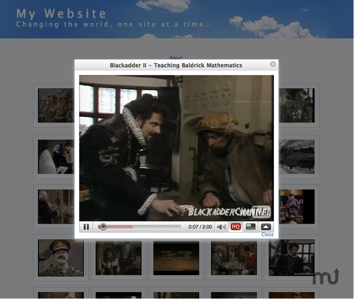 Screenshot 1 for EasyTube Gallery