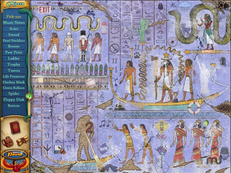 Screenshot 1 for Ancient Mysteries King Tut