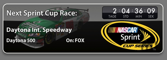 Screenshot 1 for NASCAR Widget