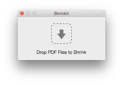 Screenshot 1 for ShrinkIt