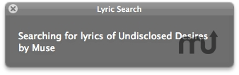 Screenshot 1 for Lyric Search