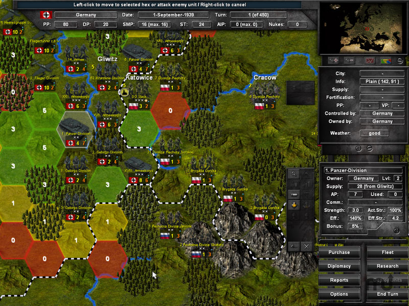 Screenshot 1 for World War 2: Time of Wrath