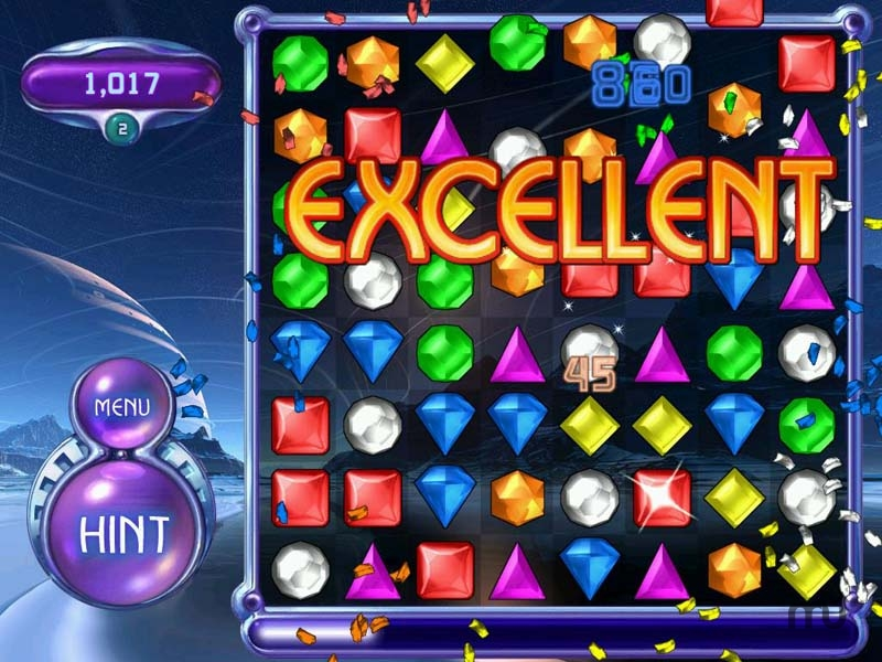Screenshot 1 for Bejeweled 2 Deluxe