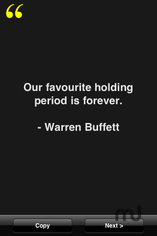 Screenshot 1 for Warren Buffett Quotes
