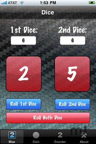 Screenshot 1 for Dice And Coin