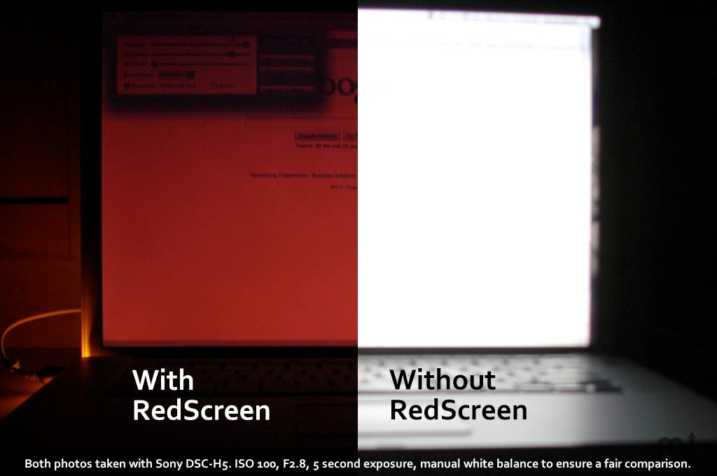 Screenshot 1 for RedScreen