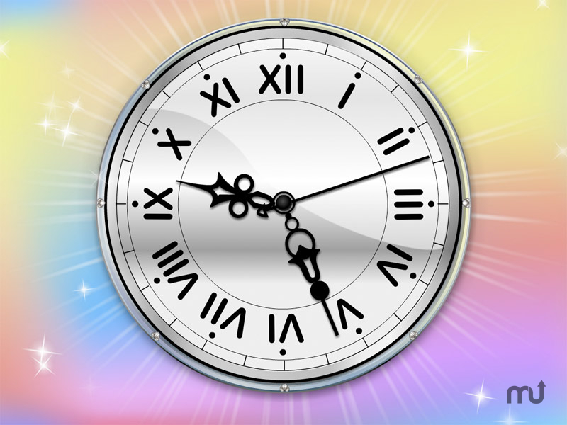 Screenshot 1 for Color Therapy Clock