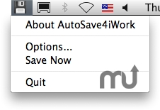 Screenshot 1 for AutoSave4iWork