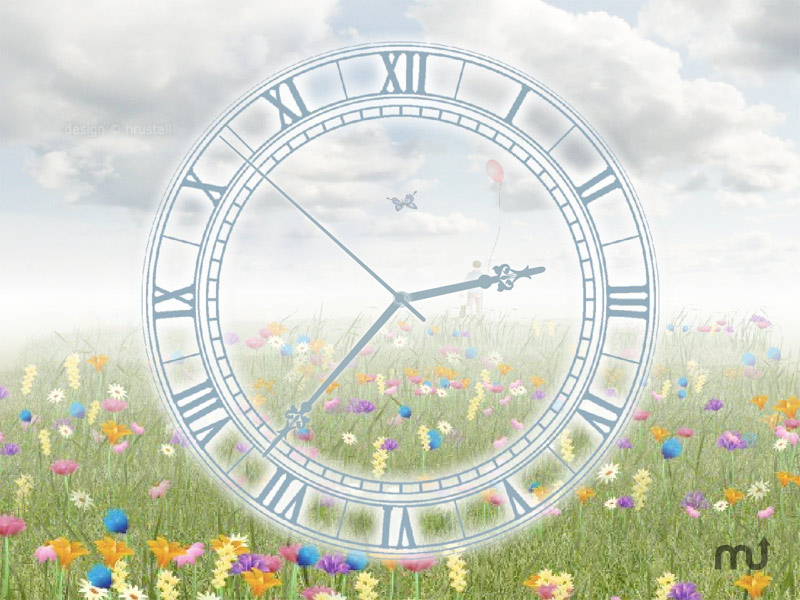 Screenshot 1 for Everlasting Flowering Clock