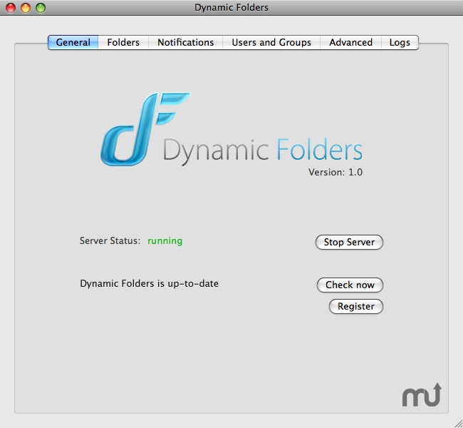 Screenshot 1 for Dynamic Folders