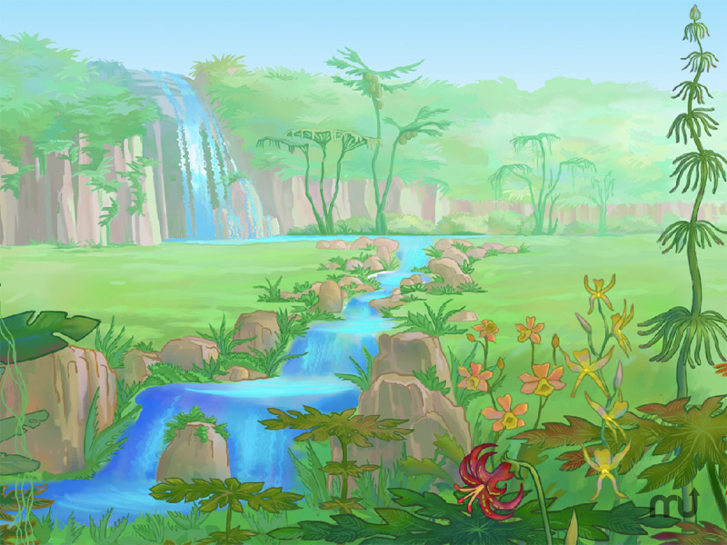 Screenshot 1 for Secret Land Screensaver
