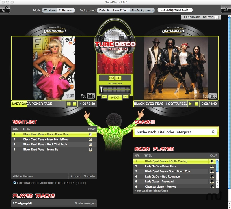 Screenshot 1 for TubeDisco