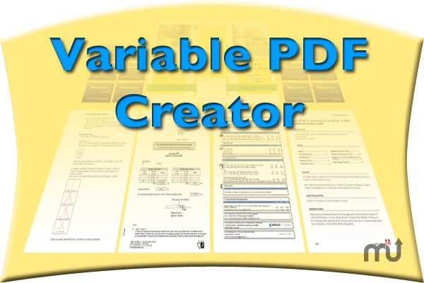 Screenshot 1 for Variable PDF Creator