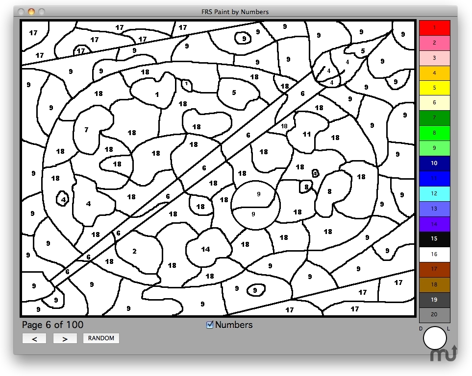Screenshot 1 for FRS Paint By Numbers