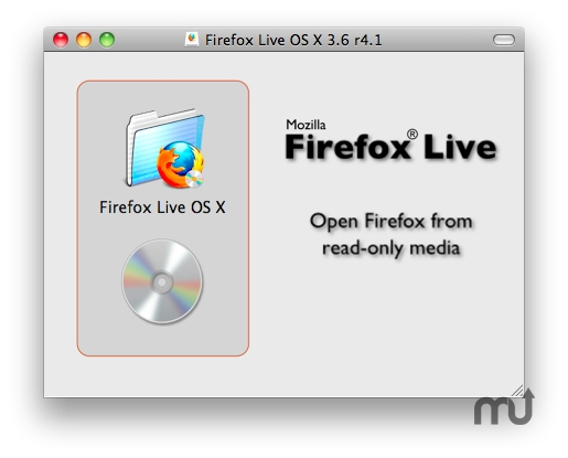 Screenshot 1 for Firefox Live CD