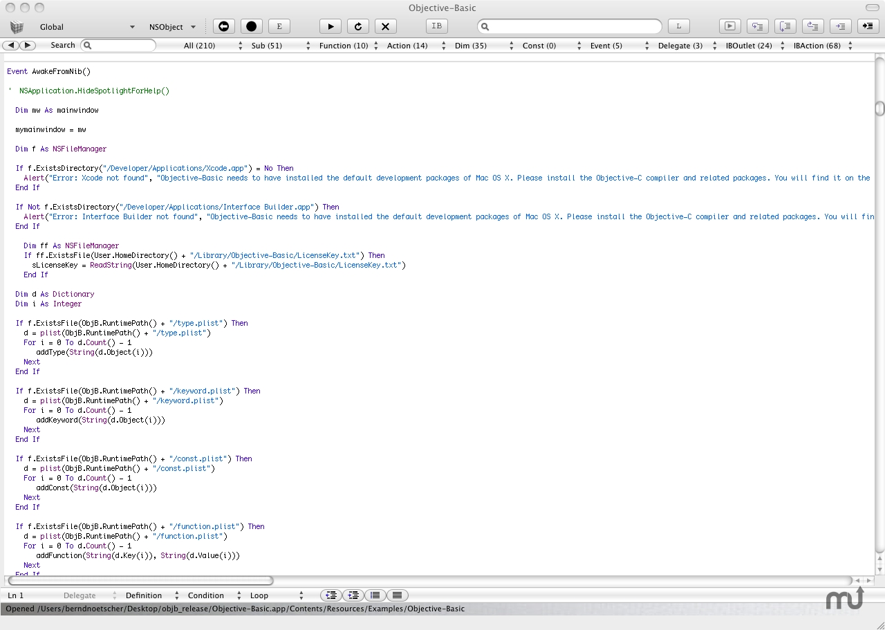 how to create an object in objective c