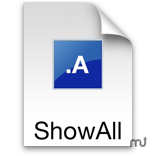 Screenshot 1 for ShowAllFiles