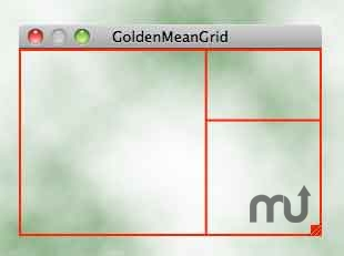 Screenshot 1 for GoldenMeanGrid