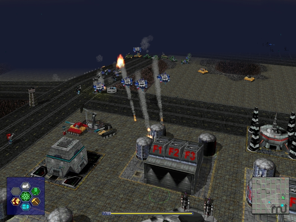 Screenshot 1 for Warzone 2100