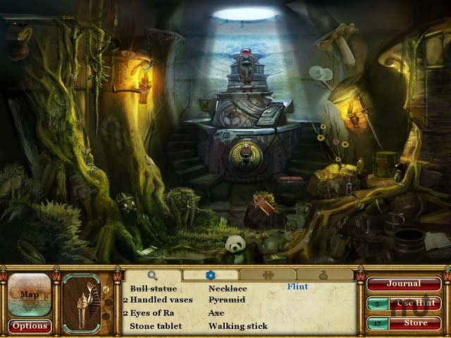 Screenshot 1 for Curse of the Pharaoh - Tears of Sekhmet
