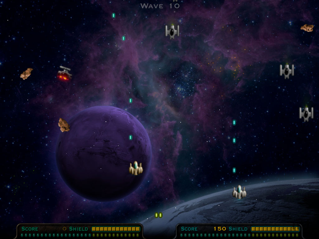Screenshot 1 for Meteor Storm