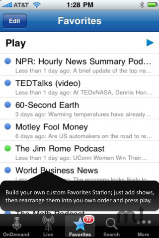 Screenshot 4 for Stitcher Radio