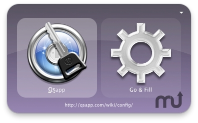 Screenshot 1 for 1Password Plugin for Quicksilver