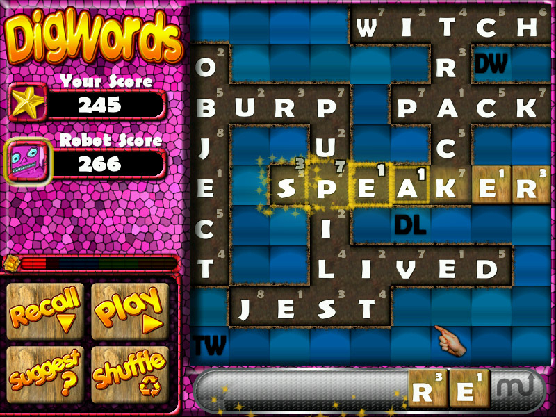 Screenshot 1 for DigWords