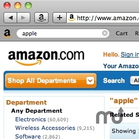 Screenshot 1 for Amazon Search Bar