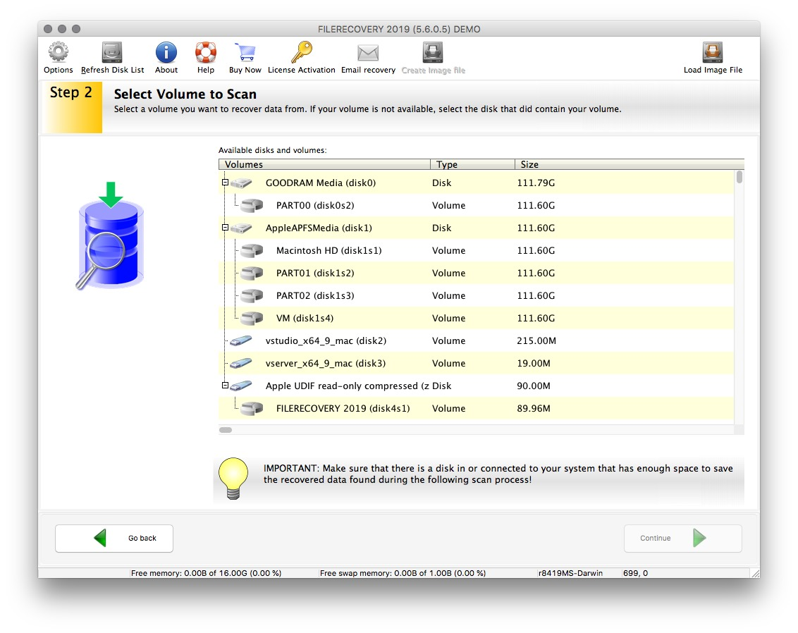Screenshot 3 for FILERECOVERY Enterprise