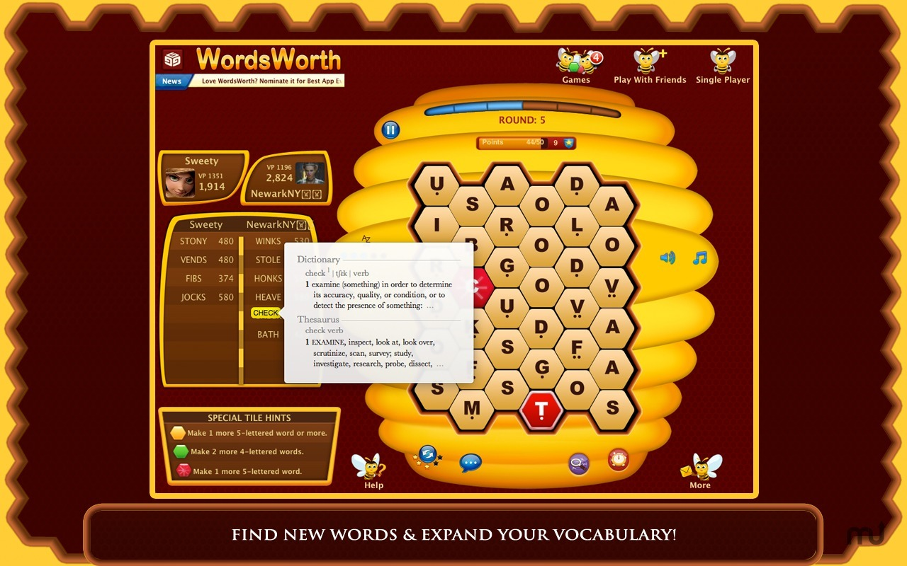 Screenshot 2 for WordsWorth