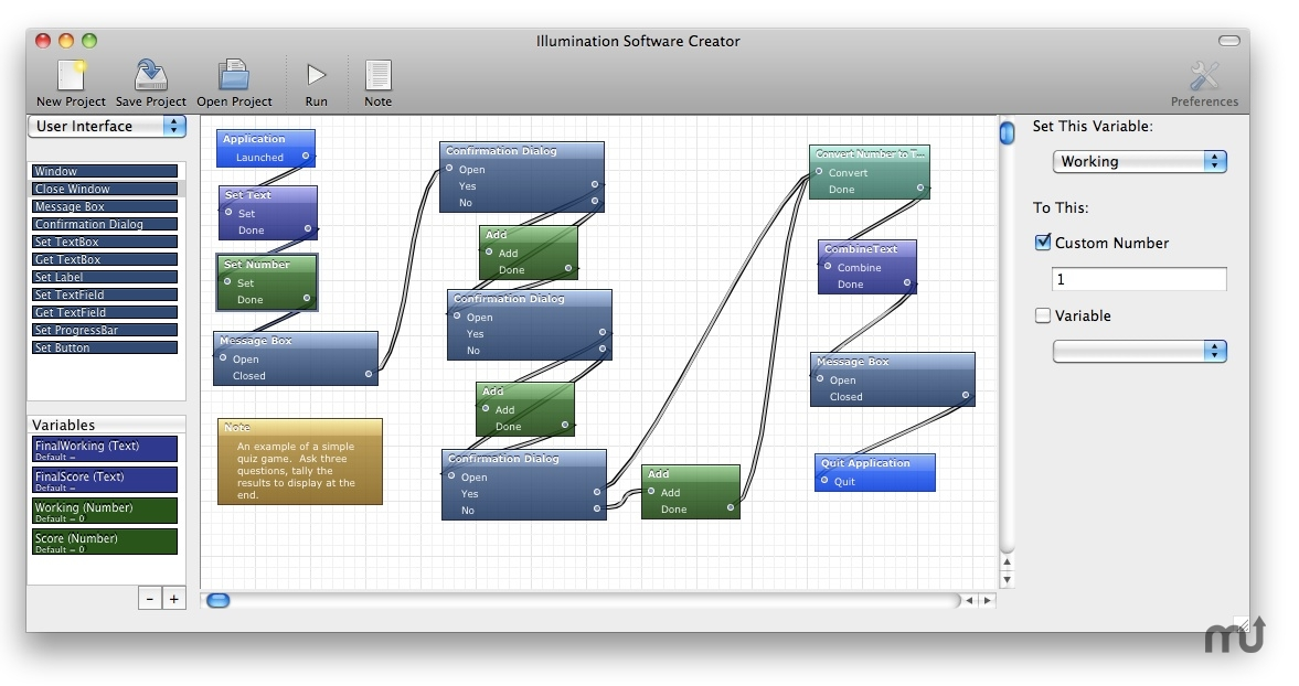 Screenshot 1 for Illumination Software Creator