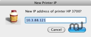 Screenshot 1 for Printer IP Remedy