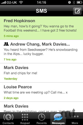 Screenshot 4 for Truphone