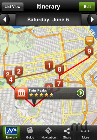 Screenshot 2 for San Francisco Travel Guide - mTrip